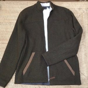 MARMOT wool-blend coat size XL